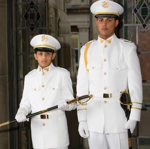 White Cadet Uniform