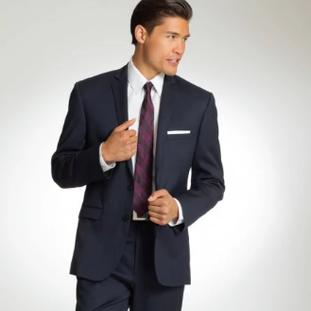 Navy Verona Wedding Suit by Saavi